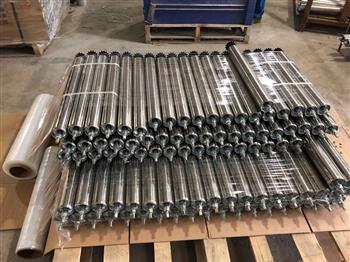 不锈钢输送机动力辊筒